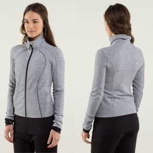 Lululemon Nice Asana Jacket in Herringbone EUC